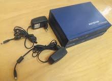 للبيع 2 جهاز سويتش فايروول NETGEAR ProSafe Firewall FR328S بحالة ممتازة