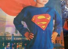 زي تنكري للاطفال ( سبابدر مان - باتمان - سوبر مان )  اسعار مميزه من فريق الابتسامه للاطفال