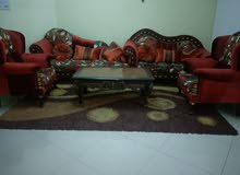 sofa set 4 pieces with Turkish carpet