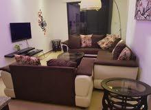 شقة  للايجار في ارقى مناطق عبدون الشمالي  مساحة الشقة 110 متر مربع الشقة مفروشة بالكامل