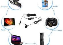 ميكرفون BOYA BY-M1 Omnidirectional Lavalier Microphone for camera DSLR iPhone 6 5S 5 4S 4