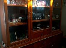 مكتبة معرض للبيع خشب صاج اصلي للبيع