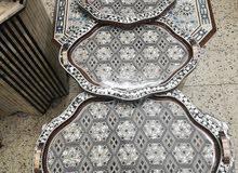 طقم صواني تقديم 3 قطع
