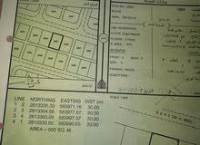 للبيع ارض سكنية الدهس قريبة الشارع السريع