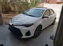 White Toyota Corolla 2017 for sale