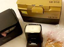 فلاش نيكون sb-910 للكميرات الاحترافية