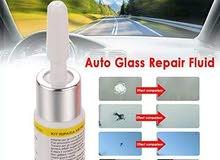 سائل إصلاح الزجاج السحري