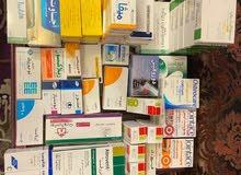 للبيع ادوية جديدة وتواريخها جديدة بنصف سعرها الاصلي في جدة