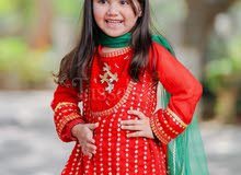 kids brand new ready made 3 pcs designer dress for sell