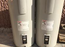 للبيع  سخان ماء مركزي حجم 50 جالون مركزي   مستعمل