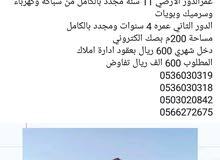 بيت استثمارية للبيع في جدة حي العزيزية 0503020842