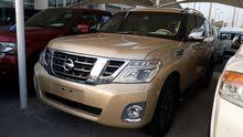 2012 Nissan Patrol Full options platinum Big engine  Gulf specs