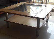 طاولة وسط قياس 110/110 مربعة