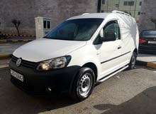 White Volkswagen Caddy 2013 for sale
