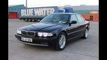 مطلوب  e38 BMW  كاسحه سياحي لون  نيلي