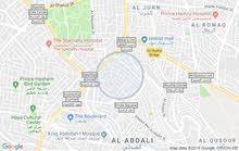 شقة فارغة للايجار بمنطقة جبل الحسين بحالة ممتازة
