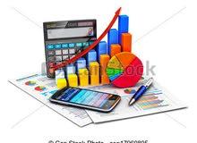 خبرة في الحسابات + العمل على انظمة ERP