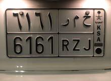 لوحة مميزة خصوصي ح م ر 6161