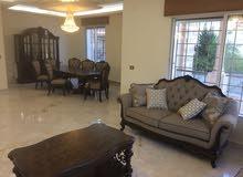للإيجار شقة مفروشة سوبر ديلوكس في منطقة تلاع العلى 4 نوم مساحة 310 م² - ط ارضي