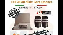 Automatic Sliding Gate motor Brand life Made in  Italy