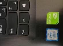 لابتوب لينوفو core i5 الجيل السابع بمواصفات احترافية بكرت شاشة نفيديا 920mx