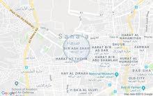 منزل مع حوش في صنعاء الامانه في شارع تونس في بير الشايف
