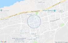 قطعة ارض مساحتها 450متر مربع في خلة الفرجان بمنطقة صلاح الدين واجهتين علي الطرق