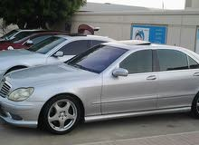 Available for sale! 0 km mileage Mercedes Benz S55 AMG 2002