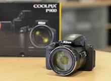 كاميرا نايكون لمن يعرف موديل nikon p900  بتقريب حقيقي x83
