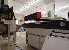 صيانة ماكنات قص الليزر والبلازما والراوتر والأجهزة الطبية والمصانع