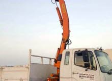 A 10-ton Mitsubishi truck model 2008 with 4 tons  شاحنه 10 طن بها هايب
