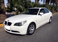 White BMW 525 2006 for sale
