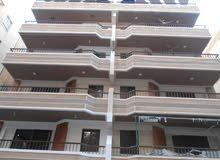 شقة سوبر لوكس 110م طابق اول علوي بجوار الخدمات مسجلة بالنخيل