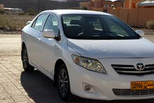 Used condition Toyota Corolla 2009 with +200,000 km mileage