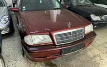 Mercedes Benz C 180 2001 For sale - Maroon color