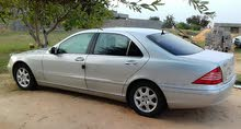 Used condition Mercedes Benz S 320 2003 with +200,000 km mileage