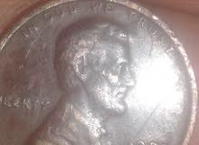 1 سنت امريكى نادر 1972