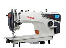 ماكينة خياطة صناعيه كمبيوتر كامل للبيع