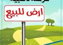 ارض للبيع في الحويطي شارع المطار خلف المدارس العالميه