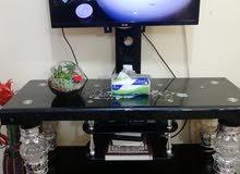 ديوان 6 قطع ثلاثة كبير وثلاث صغير نظافة 80٪ ميز تلفزيون  نظافة 80 بالمئة  بردة