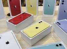 ايفون 11 جديد بسعر مميز 64GB جديد كفاله عام توصيل لجميع المناطق