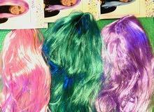 بواريك شعر اطفال ملونه للحفلات و اعياد الميلاد