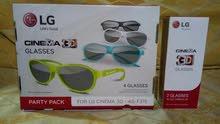 نظارات ثلاثيه الابعاد LG كوري اصلي