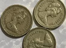 عملات قديمة - جنيهات من بريطانيا العظمى 1983