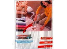 اكياس تخزين ملابس وأغطية حجم كبيير شفط الهواء