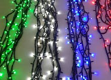 للإيجار/ إضاءة زينة للاعراس وحفلات اعياد الميلاد وغيرها من المناسبات
