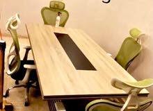 ترابيزة اجتماعات خشب mdf اسباني مستورد متوفر بجميع المقاسات من smart design