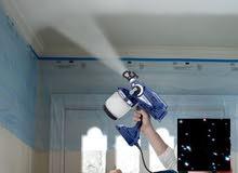 شركه ماجد الظفري للخدمات الفنيه اصباغ تنزيل ديكورات جبس صيانه المباني