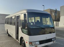 Mitsubishi Rosa bus GCC excellent condition serious buyer call me
