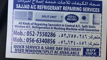 Sajjad Ac Unit fixing and Repairing